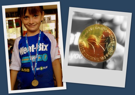 Weet-Bix Tryathlon Medal