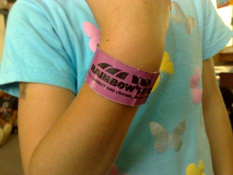 Rainbow's End Wristband